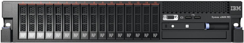 (б/у) 2U IBM x3650 M2 2*Intel Xeon E5645(6 Core, 2.4/2.67 GHz), 24Gb DDR3-10600R, BR10i, 12*no-HDD 2.5