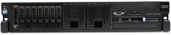 (б/у) 2U IBM x3650 M3 2*Intel Xeon E5645(6 Core, 2.4/2.67 GHz), 24Gb DDR3-10600R, M5014/256, 8*no-HDD 2.5