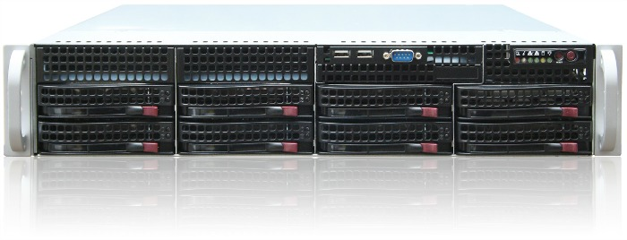 2U Supermicro   / CSE-825TQ-2*740W / X10DRL / 2*Intel Xeon E5-2650V4  / 256Gb DDR4 2133ECC / LSI3108 2GB