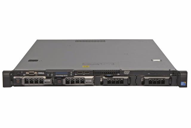 (б/у) 1U DELL PowerEdge R410 2*Intel Xeon E5645(6 Core, 2.4/2.67 GHz), 24Gb DDR3-10600R, PERC H310, 4*no-HDD 3.5