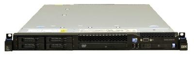 (б/у) 1U IBM x3550 M2 2*Intel Xeon E5645(6 Core, 2.4/2.67 GHz), 24Gb DDR3-10600R, BR10i, 6*no-HDD 2.5