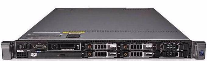 (б/у) 1U DELL PowerEdge R610 2*Intel Xeon E5645(6 Core, 2.4/2.67 GHz)), 24Gb DDR3-8500R, Perc 6i/256 or H200, 6*no-HDD 2.5
