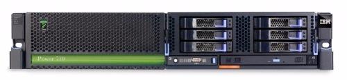 (б/у) 2U IBM Power 710 Express (8231-E2B) 1*IBM Power7 539F(8 core, 3,55GHz), 32Gb DDR3, 3*no-HDD 2.5