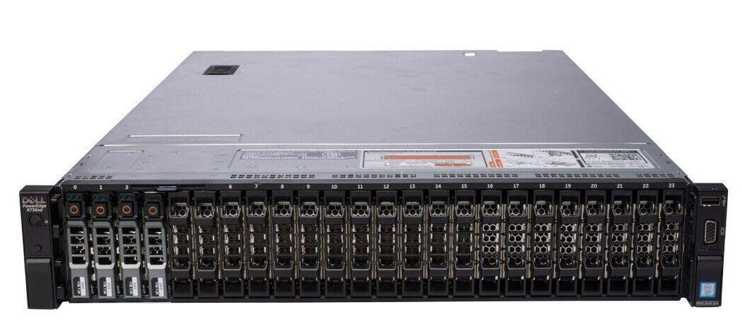 Сервер (б/у) DELL PowerEdge R730xd 2U / 20+2SFF 2.5
