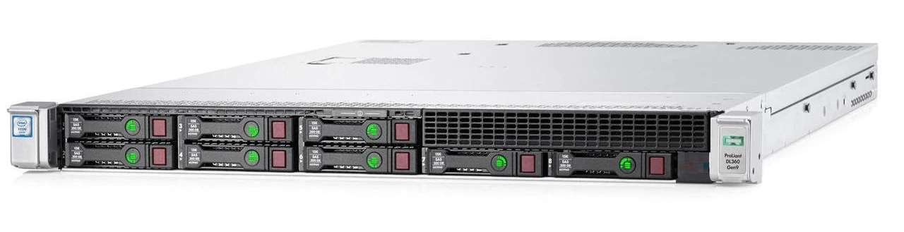 Сервер (б/у) 1U HP ProLiant DL360 Gen9 8xSFF (ID755258-B21) / 2 х CPU E5-2650 v3  2.30GHz 10 cores