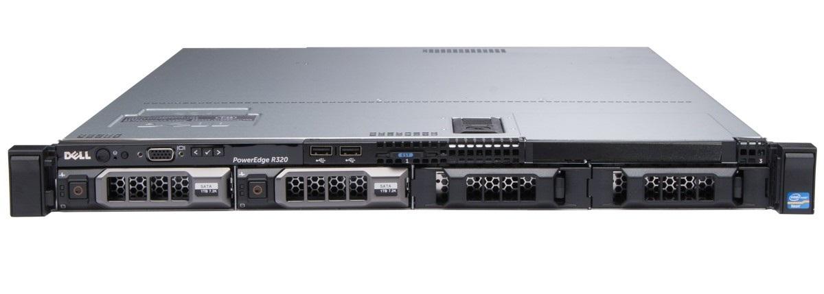 Сервер (б/у) Dell PowerEdge R320 (8CR55Z1)