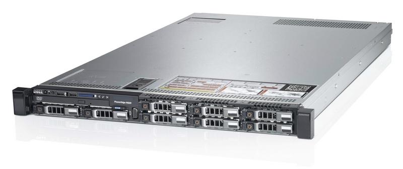 Сервер (б/у) Dell PowerEdge R620 CPU 2x Intel Xeon E5-2690 2.9GHz-3.6GHz (8 cores, 16  threads, 20M Cache)