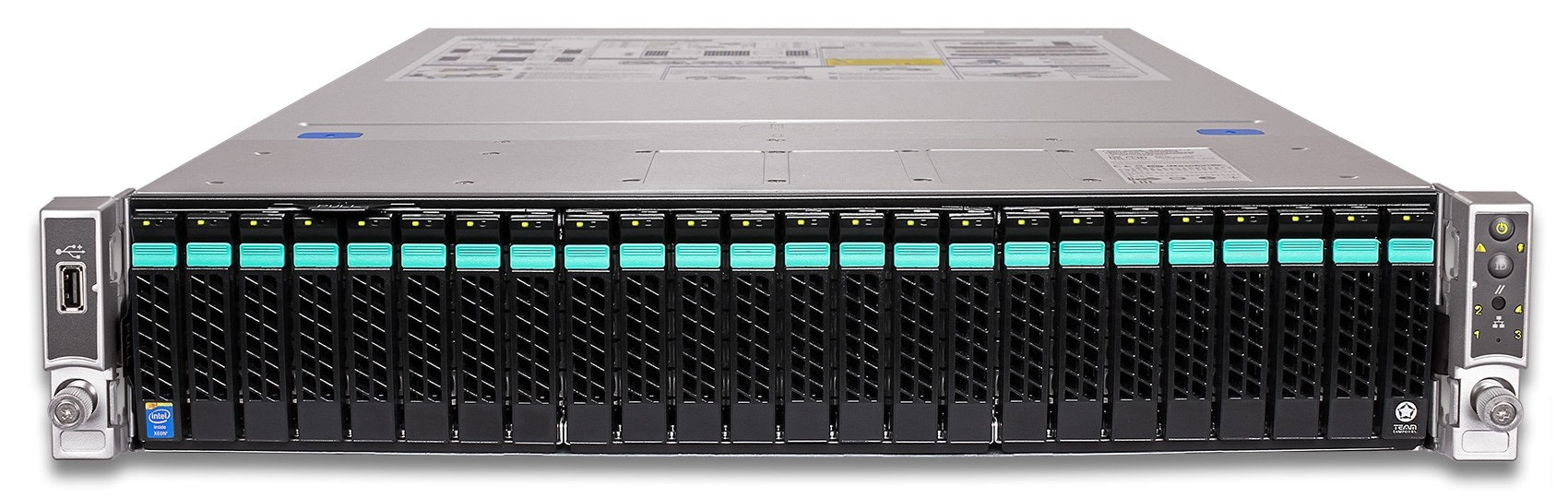 Сервер (б/у) Intel Server System R2000, R2224WTTYSR (BQWL64352052)