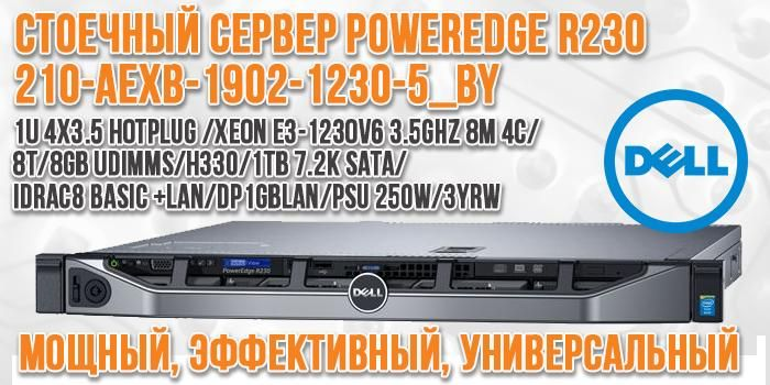 Dell PowerEdge R230 (210-AEXB-1902-1230-5_BY) slide