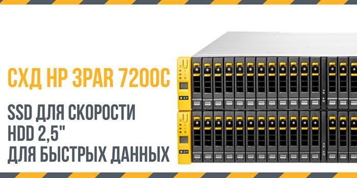 Схд HP 3PAR 7200C -2 slide