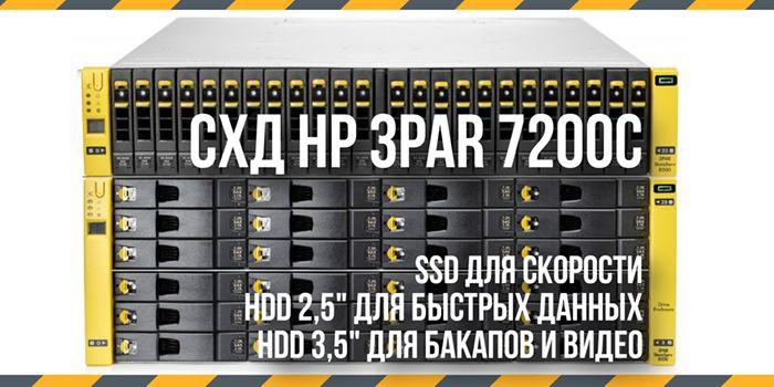 Схд HP 3PAR 7200C -3 slide