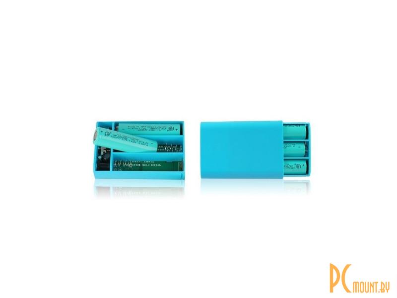 Портативное зарядное устройство (Power Bank) 12v5V-UPS [UV type] 2A ток, с  батарейным отсеком на
