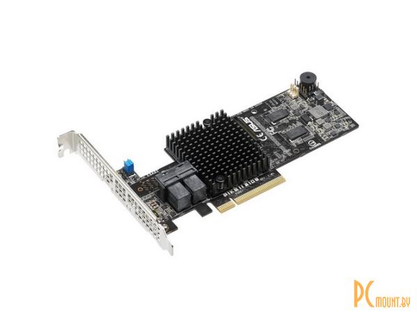 PIKE II 3108-8I/240PD/2G 8-port Internal SAS12G RAID Card 2GB Cache, 240PD (MiniSAS HD) 90SC07P0-M0UAY0