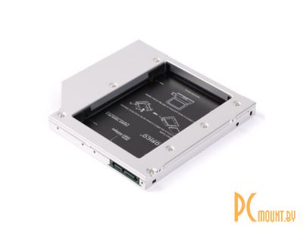 SSD/HDD в CD-DVD ROM (Optibay): Orico 12.7mm L127SS-SV Orico L127SS-SV