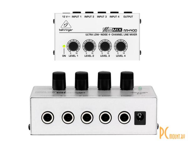 Dj микшерные пульты: Behringer Micromix  MX400