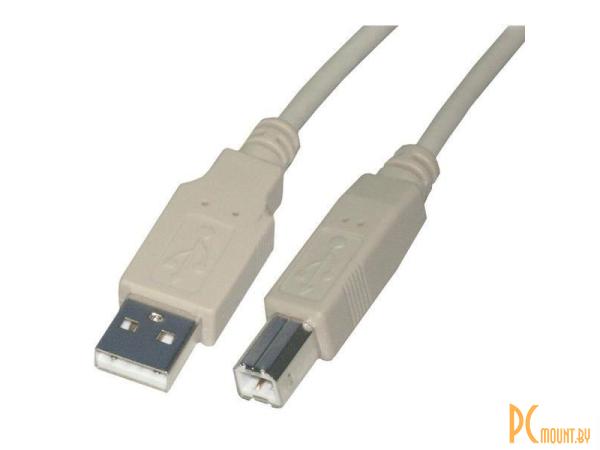 USB A/B/Micro/Mini/Type-C: Rexant USB-A (Male) - USB-B (Male) 1.8m  18-1104