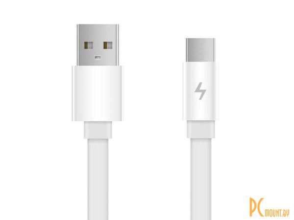USB A/B/Micro/Mini/Type-C: Xiaomi ZMI  USB - MicroUSB 1.0m White AL600