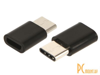 USB A/B/Micro/Mini/Type-C: Red Line MicroUSB - Type-C Black  УТ000016931