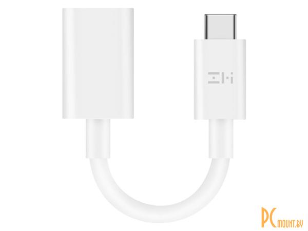USB A/B/Micro/Mini/Type-C: Xiaomi ZMI  USB-A - Type-C White AL271