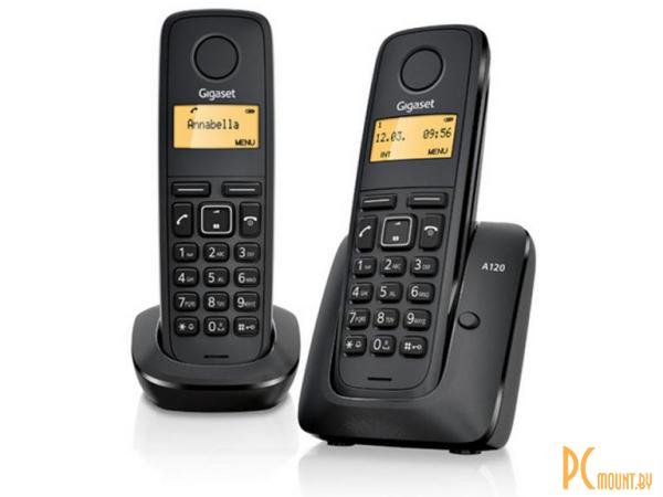 DECT телефоны: Gigaset A120 DUO L36852-H2401-S301