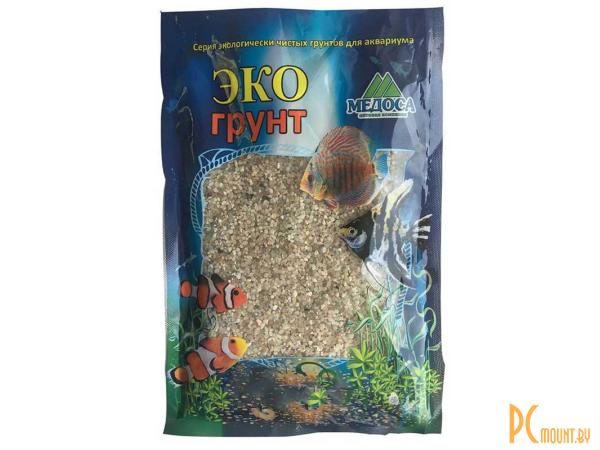 Грунты для аквариумов и террариумов: натуральный кварцевый грунт Эко грунт Куба-XL 2.0-5.0mm 1kg  500048