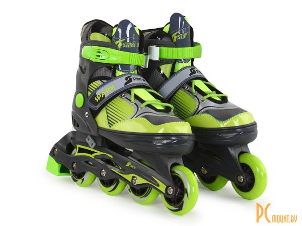 Роликовые коньки: Start Up Spark р.S 31-34 Black-Green 360 342 360342