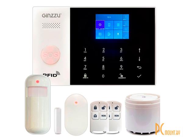Готовые комплекты сигнализаций: Ginzzu WL HS-K04