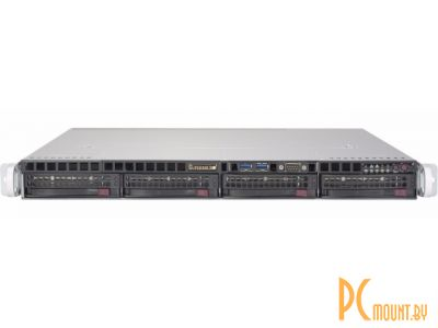 server supermicro 1u cse-813mftqc 2x 400w x10drl 2x 2011-v3 32gb