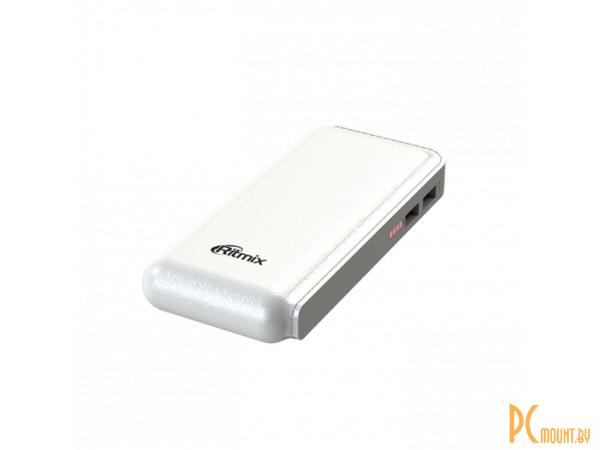 smartaccs charger powerbank ritmix rpb-10001l white