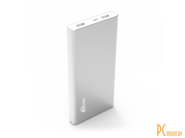 фото Портативное зарядное устройство Ritmix RPB-12077P silver