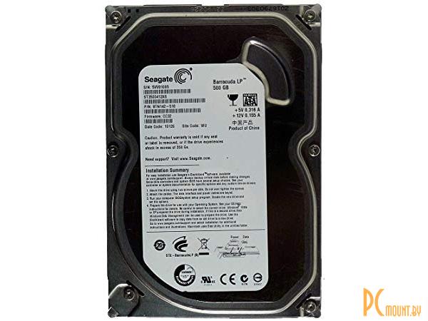 фото (б/у)500GB, SATA-II, Seagate, ST3500412AS (5900rpm) 16Mb