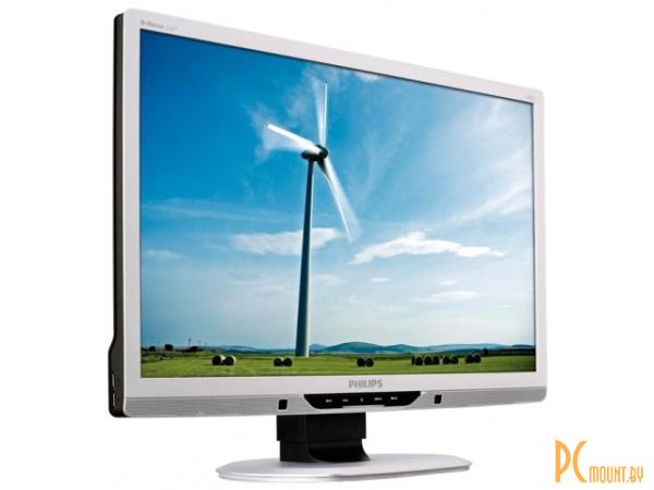 фото Монитор PHILIPS 221B3LPCB, 16:9, LED Backlight, Black, 1920x1080, DVI, USB2.0x2, PowerSensor, MULTIMEDIA 1.5Wx2, DC 20 000 000:1, 5ms, 250 cd/m2, 176/170, H/A stand 70mm, EPEAT Gold, TCO 5.1