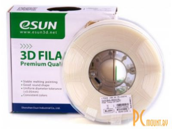 prn3d plastic esun abs+ natural 1-75mm 1kg
