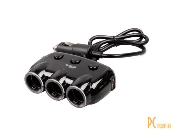 auto charger ritmix rm-3123dc black