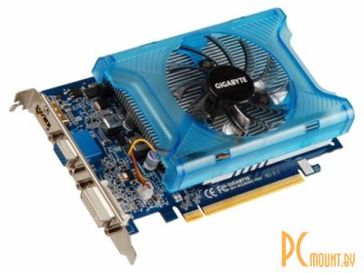 фото Gigabyte PCI-E NV GV-N220-1GI GeForce GT220 1Gb DDR3 (128bit) DVI/ HDMI/ VGARetail