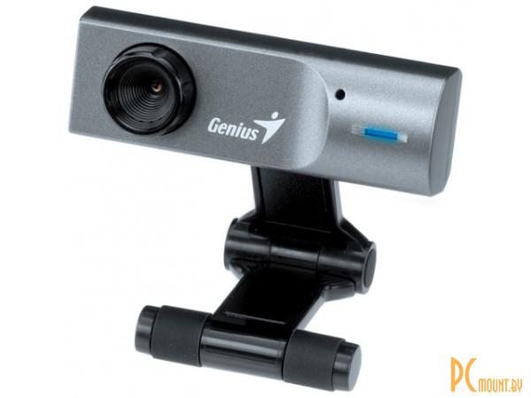 фото Genius FaceCam 311, Веб-камера, (USB 1.1, 0.3 мпикс., CMOS, видео 640x480, 30 Гц, крепление на мониторе, микрофон)