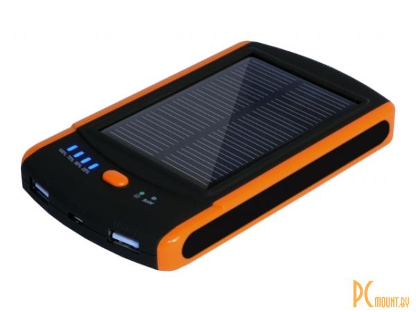 фото Зарядное устройство IconBit FTB6000S (портативный аккумулятор 6000мАч, выходное напряжение 5В, солнечная батарея, 181г)