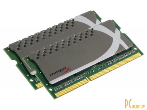 фото SODDR3, 8Gb, PC12800 (1600MHz), Kingston KHX1600C9S3P1K2/8G, KIT of 2, Количество слотов памяти: 2;