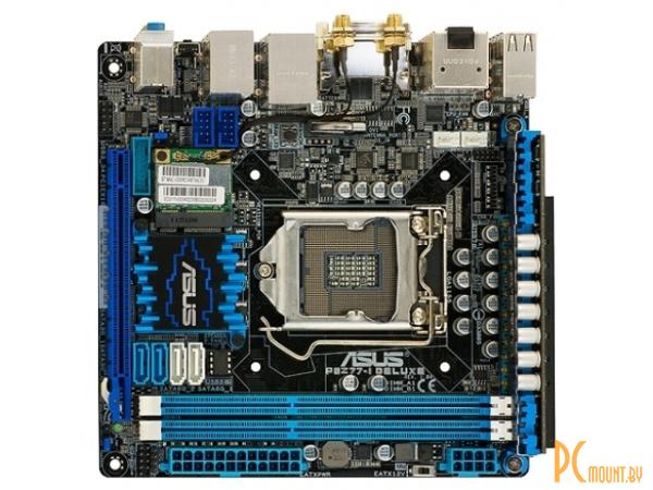 фото Материнская плата Asus, Soc-1155, P8Z77-I Deluxe, Intel Z77