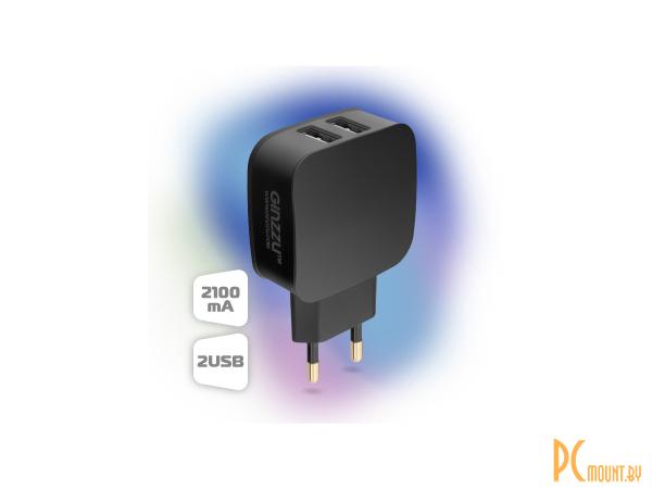 smartaccs charger ginzzu ga-3008b black