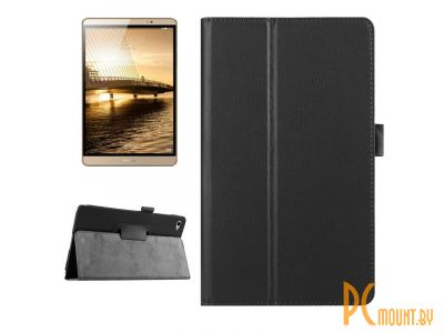 smartaccs cover huawei two folds leather case black