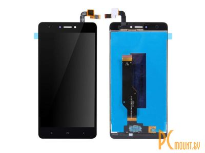 spare smartphone touch-screen xiaomi redmi note 4x black