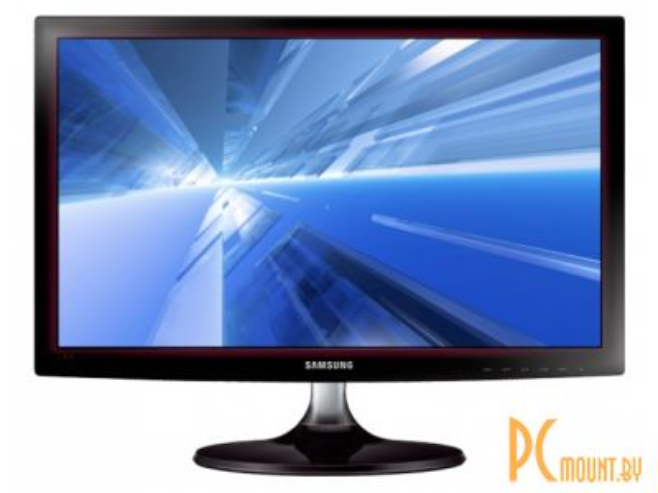 фото Монитор Samsung S20D300HY (LS20D300HY/RU), 16:9, 1600x900, LED, Glossy black-red, HDMI, 5 ms, DC MEGA, 200cd/m2, Power: EXT., Windows 8.1