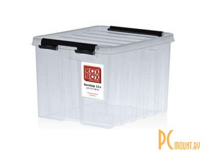 other device container roxbox 3-5l universal cover transparent