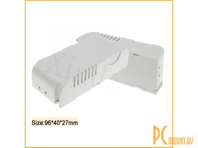 rc plastic enclosure l3 96x40x23mm