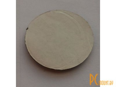 other device sticker double-sided round 33mm black oem