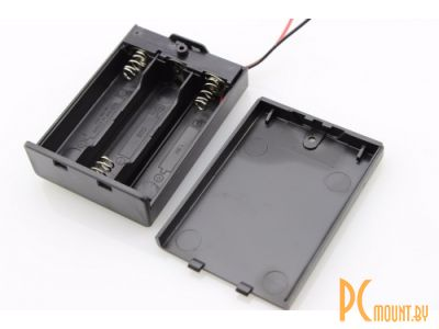 arduino battery holder box 3x aa