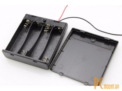 arduino battery holder box 4x aa