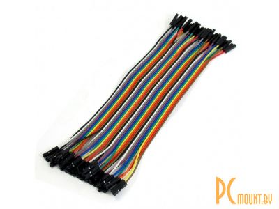 arduino cable 12cm 1p-1p f-f 40pcs kit