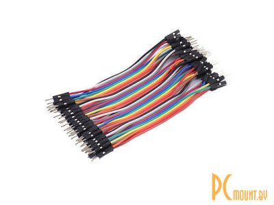 arduino cable 12cm 1p-1p m-m 40pcs kit